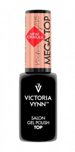 MEGA TOP HARD & LONG NAILS 8 ml NOWA FORMUŁA VICTORIA VYNN
