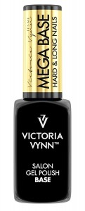 Mega base hard & long nails Clear - wielofunkcyjna baza hybrydowa 8 ml  Victoria Vynn
